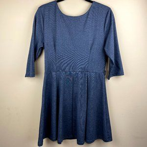 Cinderella Fit and Flare Workwear Office Dress XL